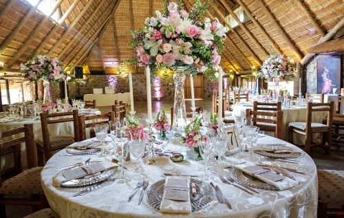 Reception Options at Kwalata Bushveld Wedding